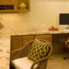 Traditional Home Office by Shane D. Inman