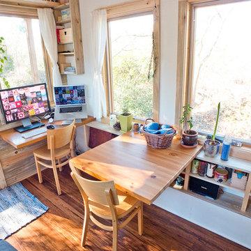 Tiny House Fold-Down Table