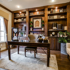 Traditional Home Office by JE Design Group, Inc