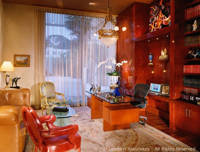 Traditional Home Office by Tomar Lampert Associates