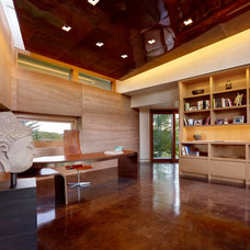 Modern Home Office by Carney Logan Burke Architects