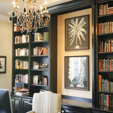 Traditional Home Office by AYI & ASSOCIATES