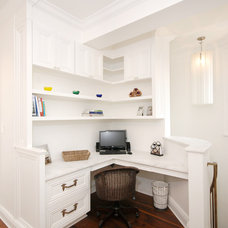 Traditional Home Office by AMI Designs