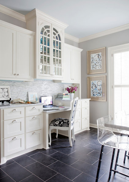 traditional home office by Andrea Brooks Interiors