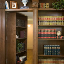 Traditional Home Office by Whitestone Builders