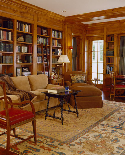 Traditional Home Office by Conard Romano Architects