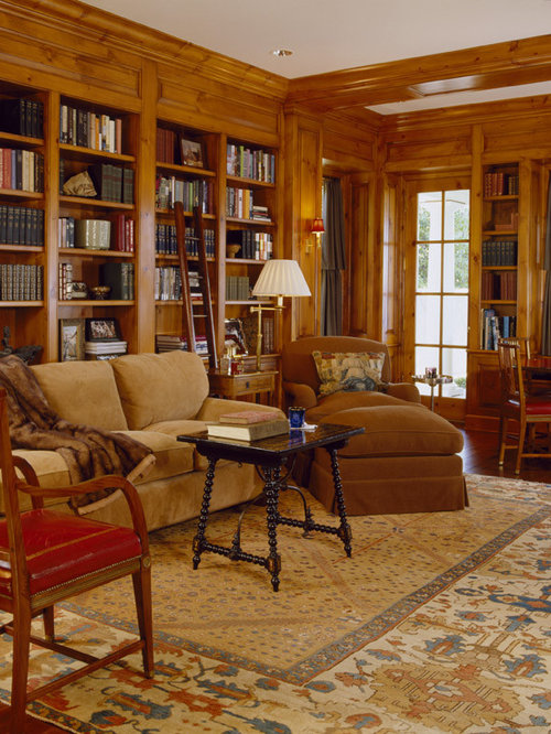Traditional Home Library Design Ideas: Cozy Library Ideas, Pictures, Remodel And Decor