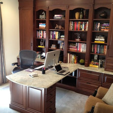 Traditional Home Office Traditional Home Office