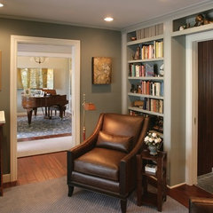 traditional home office by Ernesto Garcia Interior Design, LLC
