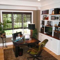 traditional home office by Letitia Holloway