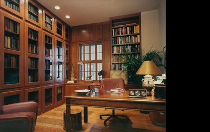 Traditional Home Office by Gibbons, Fortman & Associates, Ltd.