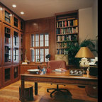 traditional home office atherton library traditional home office