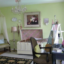 Traditional Home Office by Amy of  Maison Decor