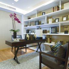 Traditional Home Office by Modern and Classic Interiors