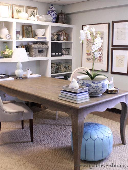 Traditional Salt Lake City Home Office Design Ideas