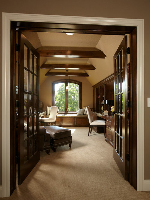 Remarkable Personal Office Design Ideas Remodel Pictures Houzz Largest Home Design Picture Inspirations Pitcheantrous