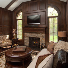 Traditional Home Office by SPACE, Inc.
