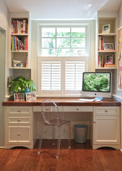 Traditional Home Office by Susan Fisher Photography