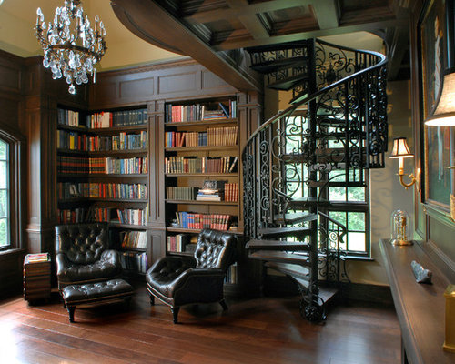 Awesome Classic Library Ideas Pictures Remodel And Decor Largest Home Design Picture Inspirations Pitcheantrous