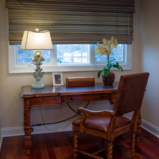 Traditional Home Office by CANDICE ADLER DESIGN LLC