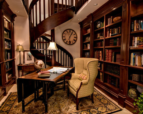 home office and library design ideas renovations photos with
