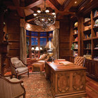 2009 Southern Accents Showhome Traditional Home Office