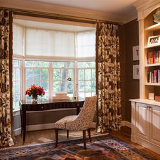 Traditional Home Office by A Houck Designs