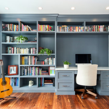 Traditional Staging for Ann Arbor Home Tour