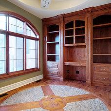 Home Office by Veranda Estate Homes & Interiors
