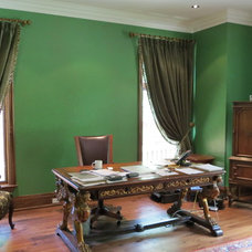 Traditional Home Office by The Seventh Element Design Group