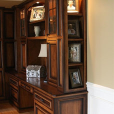 Traditional Home Office by Nathan Alan Design