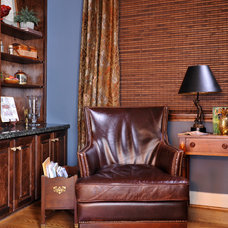 Traditional Home Office by Cindy Aplanalp-Yates & Chairma Design Group