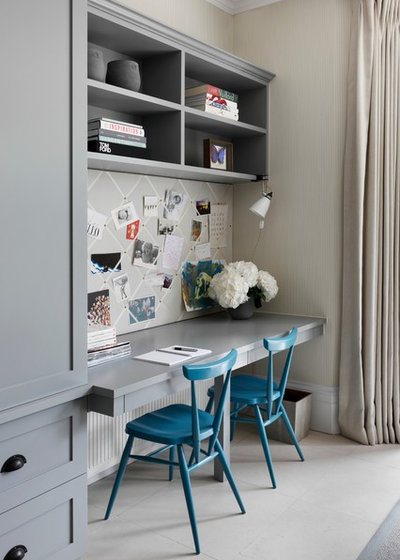 Transitional Home Office by Turner Pocock