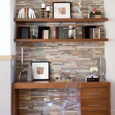 Transitional Home Office Transitional Home Office