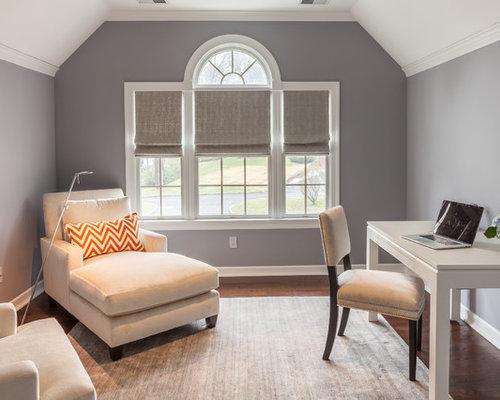 best transitional home office design ideas remodel pictures houzz - Transitional Design Ideas