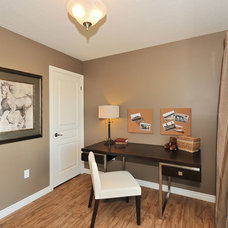 Transitional Home Office by Quality Homes