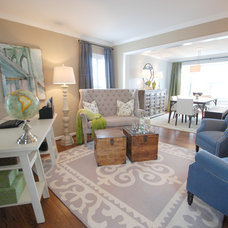 Transitional Home Office by The Suite Shoppe Interiors