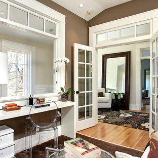 Interior French Doors Transoms Home Office Ideas U0026 Photos | Houzz