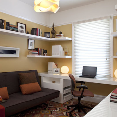 1000 images about small space den ideas on pinterest for Small room home office