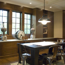 Traditional Home Office by Erik Johnson and Associates