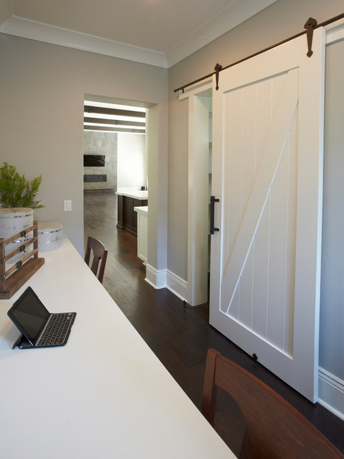 White Barn Door Home Design Ideas Pictures Remodel And Decor
