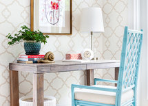 Love the blue chair! Where is it from??
