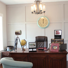 Craftsman Home Office by Tree Haven Homes