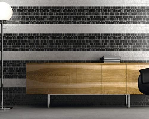 Bureau moderne avec un mur vert photos et idées déco de bureaux