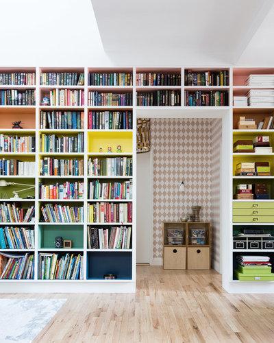 Contemporain Bureau à domicile by Front Studio Architects