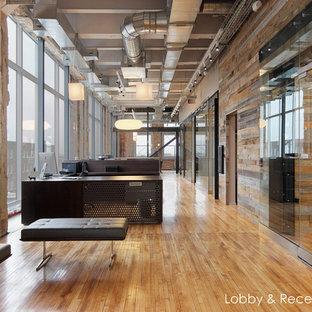 Idéer för mycket stora industriella arbetsrum