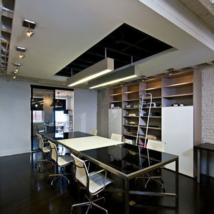 Home office - modern home office idea in DC Metro