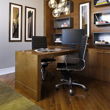 Modern Home Office by Mary Cook