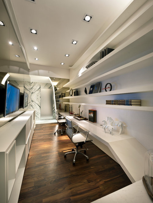 Soho Home Office Design Ideas, Remodels & Photos