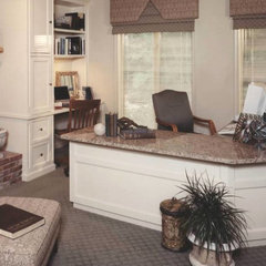 traditional home office by Gina Fitzsimmons ASID